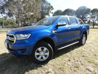 Ford Ranger XLT Tech Pack Blue 6 Speed Automatic Dual Cab.