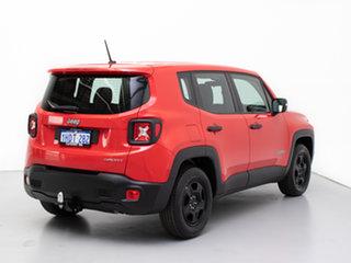 2016 Jeep Renegade BU Sport Red 5 Speed Manual Wagon