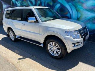 2020 Mitsubishi Pajero NX MY21 GLS Warm White 5 Speed Sports Automatic Wagon.