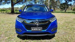 2020 Honda HR-V MY21 VTi-S Blue 1 Speed Automatic Hatchback.