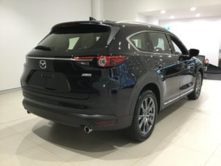 2019 Mazda CX-8 KG4W2A Asaki SKYACTIV-Drive i-ACTIV AWD Jet Black 6 Speed Sports Automatic Wagon.