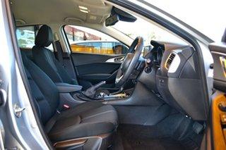 2017 Mazda 3 BN5278 Maxx SKYACTIV-Drive Silver 6 Speed Sports Automatic Sedan.