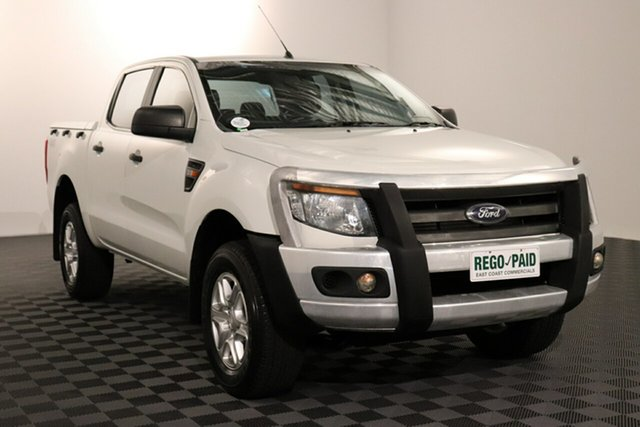 Used Ford Ranger PX XL Acacia Ridge, 2014 Ford Ranger PX XL White 6 speed Automatic Utility