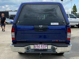 2005 Nissan Navara D22 S2 ST-R Blue 5 Speed Manual Utility