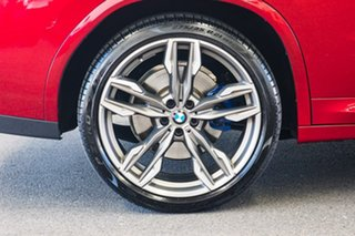 2018 BMW X4 G02 MY19 M40I Red 8 Speed Automatic Coupe