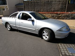 2002 Ford Falcon AUII XLS Marlin Silver 4 Speed Automatic Utility.