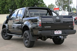 2011 Nissan Navara D40 MY11 ST Black 6 Speed Manual Utility.
