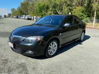 2006 Mazda 3 BK MY06 Upgrade Maxx Sport Black 4 Speed Auto Activematic Hatchback