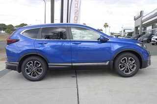 2021 Honda CR-V RW MY21 VTi FWD L7 Cosmic Blue 1 Speed Constant Variable Wagon.