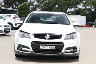 2013 Holden Commodore VF MY14 SS V Redline White 6 Speed Sports Automatic Sedan
