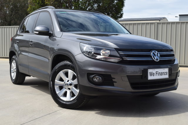 Used Volkswagen Tiguan 5N MY13.5 132TSI DSG 4MOTION Pacific Echuca, 2013 Volkswagen Tiguan 5N MY13.5 132TSI DSG 4MOTION Pacific Graphite 7 Speed