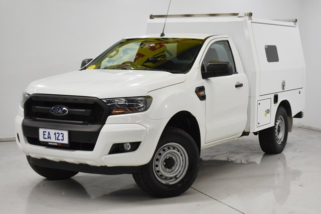 Used Ford Ranger PX MkII XL Hi-Rider Brooklyn, 2016 Ford Ranger PX MkII XL Hi-Rider White 6 Speed Sports Automatic Cab Chassis