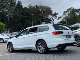 2020 Volkswagen Passat 3C (B8) MY20 140TSI DSG Business White 7 Speed Sports Automatic Dual Clutch.