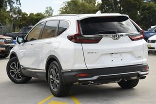 2021 Honda CR-V RW MY21 VTi FWD L7 Platinum White 1 Speed Constant Variable Wagon.