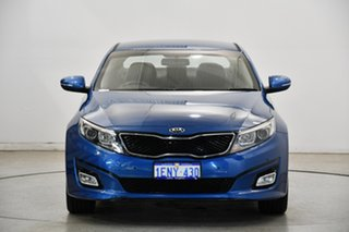 2014 Kia Optima TF MY14 SI Abyss Blue 6 Speed Sports Automatic Sedan.
