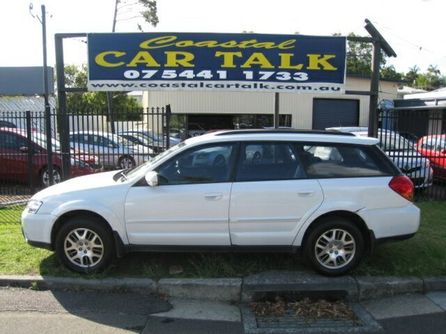 Used Subaru Outback MY05 2.5i AWD Nambour, 2005 Subaru Outback MY05 2.5i AWD White 4 Speed Auto Elec Sportshift Wagon