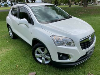 2013 Holden Trax TJ MY14 LTZ White 6 Speed Automatic Wagon