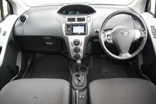 2011 Toyota Yaris NCP131R YRS Black 4 Speed Automatic Hatchback