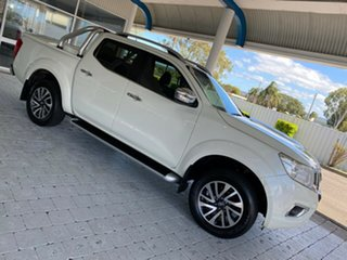 2016 Nissan Navara NP300 D23 ST-X White 7 Speed Sports Automatic Dual Cab Utility