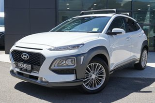 2020 Hyundai Kona OS.3 MY20 Elite (FWD) Chalk White 6 Speed Automatic Wagon.