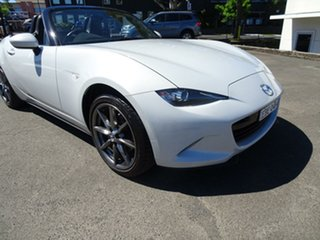 2018 Mazda MX-5 ND GT RF SKYACTIV-Drive Ceramic White 6 Speed Sports Automatic Targa