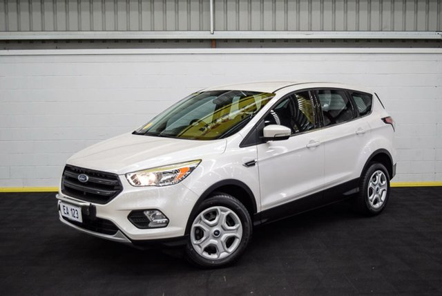 Used Ford Escape ZG Ambiente Canning Vale, 2017 Ford Escape ZG Ambiente White 6 Speed Sports Automatic SUV