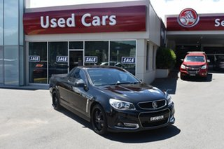2014 Holden Ute VF MY14 SS Ute Storm Black 6 Speed Sports Automatic Utility.