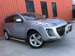 2012 Peugeot 4007 MY12 SV DCS Auto HDi Silver 6 Speed Sports Automatic Dual Clutch Wagon.