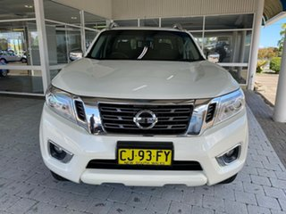 2016 Nissan Navara NP300 D23 ST-X White 7 Speed Sports Automatic Dual Cab Utility.