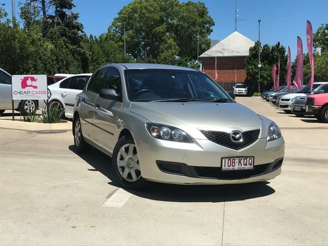 Used Mazda 3 BK10F2 Neo Toowoomba, 2007 Mazda 3 BK10F2 Neo Silver 5 Speed Manual Hatchback