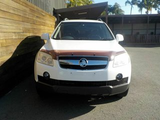 2009 Holden Captiva CG MY09.5 CX AWD White 5 Speed Sports Automatic Wagon