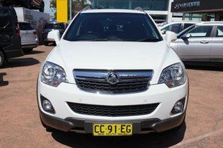 2014 Holden Captiva CG MY13 5 LT (FWD) White 6 Speed Automatic Wagon