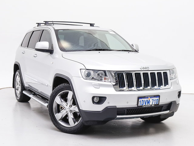 Used Jeep Grand Cherokee WK Limited (4x4), 2011 Jeep Grand Cherokee WK Limited (4x4) Silver 5 Speed Automatic Wagon