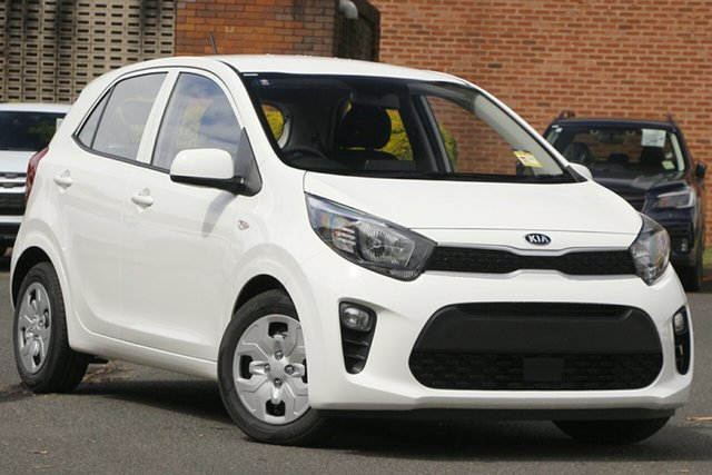 New Kia Picanto JA MY21 S Bundamba, 2020 Kia Picanto JA MY21 S Clear White 4 Speed Automatic Hatchback