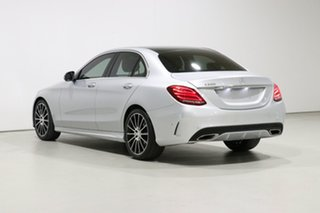 2017 Mercedes-Benz C200 205 MY17.5 Silver 9 Speed Automatic G-Tronic Sedan