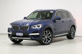 2018 BMW X3 G01 MY18.5 xDrive30I Blue 8 Speed Automatic Wagon.