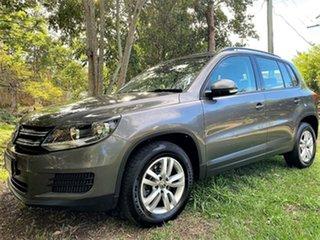 2013 Volkswagen Tiguan 5N MY14 118TSI DSG 2WD Pepper Grey 6 Speed Sports Automatic Dual Clutch Wagon.