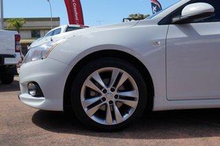 2013 Holden Cruze JH MY14 SRi V White 6 Speed Automatic Hatchback.