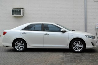 2012 Toyota Camry AVV50R Hybrid HL White 1 Speed Constant Variable Sedan Hybrid.