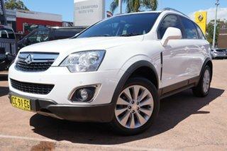 2014 Holden Captiva CG MY13 5 LT (FWD) White 6 Speed Automatic Wagon.