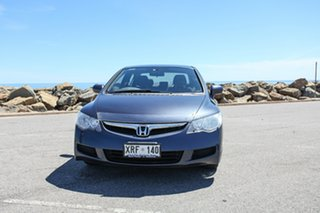2007 Honda Civic 8th Gen MY07 VTi Blue 5 Speed Automatic Sedan
