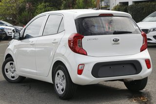 2020 Kia Picanto JA MY21 S Clear White 5 Speed Manual Hatchback.