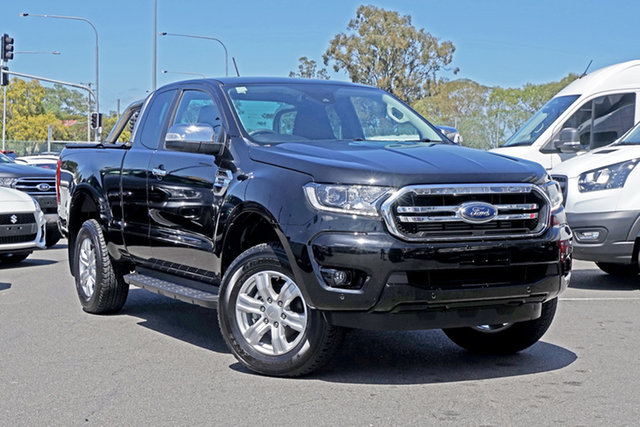 Used Ford Ranger PX MkIII 2019.00MY XLT Ebbw Vale, 2019 Ford Ranger PX MkIII 2019.00MY XLT Black 10 Speed Sports Automatic Double Cab Pick Up