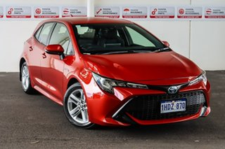 2020 Toyota Corolla ZWE211R Ascent Sport E-CVT Hybrid Volcanic Red 10 Speed Constant Variable.