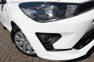 2021 Kia Rio YB MY21 S Clear White 6 Speed Automatic Hatchback.