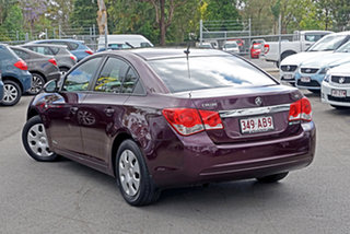 2013 Holden Cruze JH Series II MY13 CD Red 6 Speed Sports Automatic Sedan.