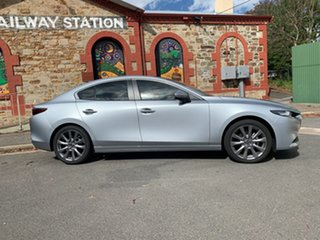 2019 Mazda 3 BP2S7A G20 SKYACTIV-Drive Evolve Sonic Silver 6 Speed Sports Automatic Sedan.