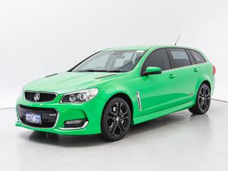 2016 Holden Commodore VF II SS-V Redline Spitfire Green 6 Speed Automatic Sportswagon.