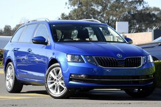 2020 Skoda Octavia NE MY20.5 110TSI DSG Race Blue 7 Speed Sports Automatic Dual Clutch Wagon.