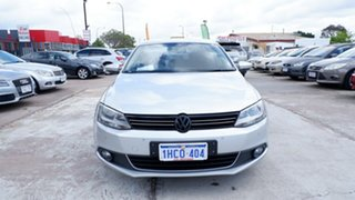 2012 Volkswagen Jetta 1B MY12.5 147TSI DSG Highline Silver 6 Speed Auto Sportshift Sedan.